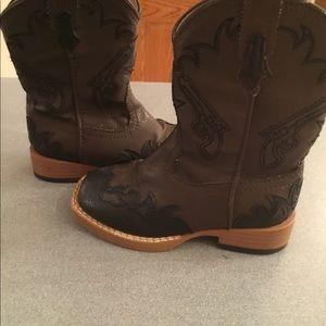Roper Boys cowboy boots size 7